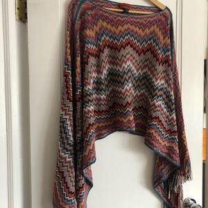 Missoni Poncho (or shawl)